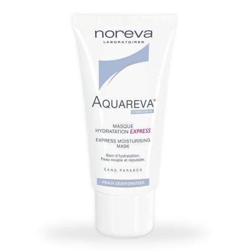 Маска Noreva Экспресс-маска 50 мл интенсивный ночной увлажняющий уход aquareva 50 мл