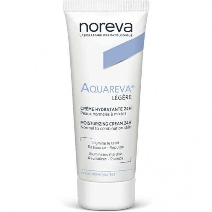 Крем Noreva Крем легкой текстуры noreva noreva уход ночной интенсивный увлажняющий 24 часа aquareva 50 мл