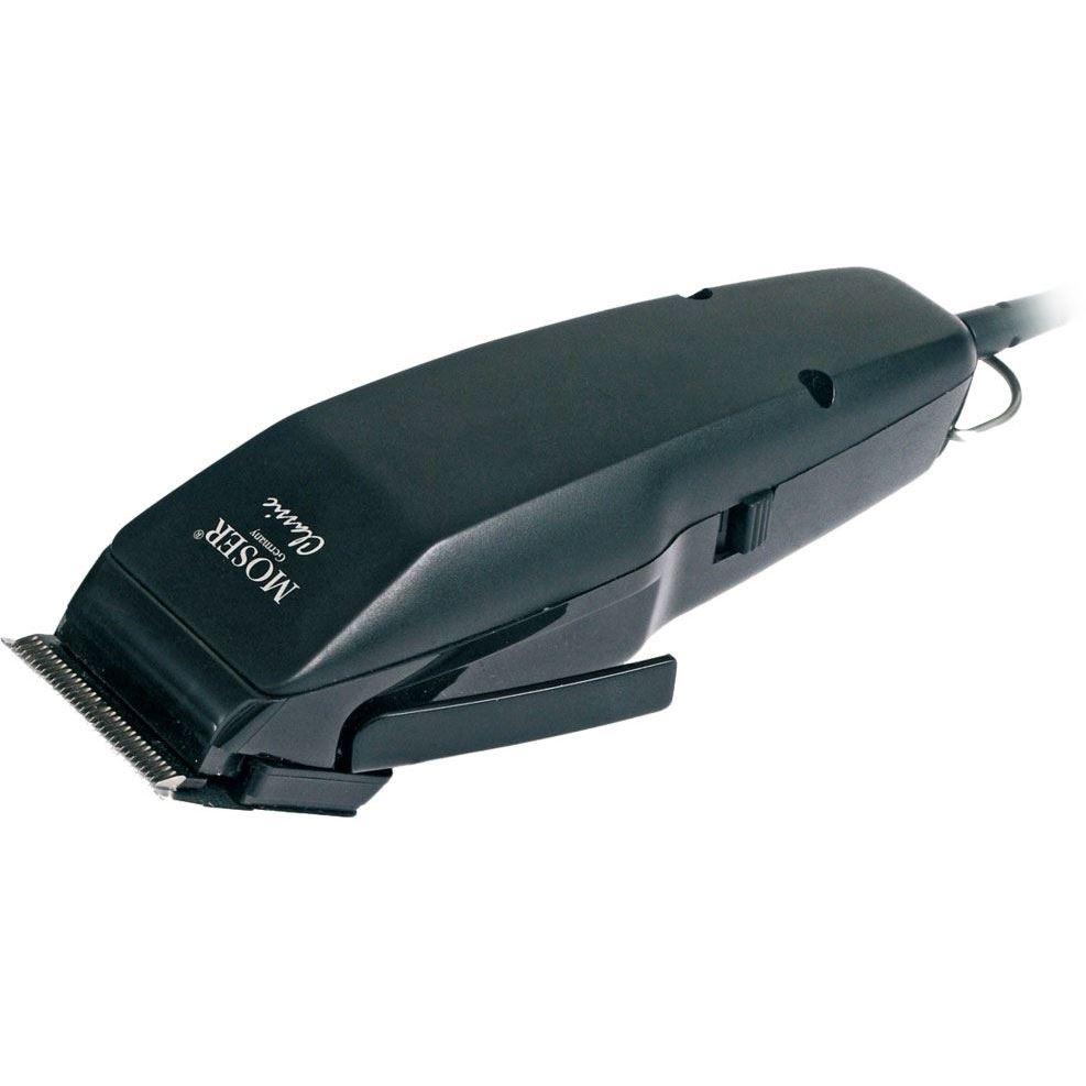 Машинка для стрижки Moser 1400-0457 Classic Black Машинка для стрижки (1400-0457) moser animalline 1400 0074 в москве
