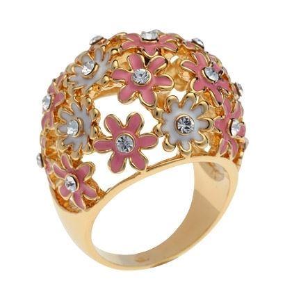 Кольца Charmelle Кольцо RE 3646AB  (RE 3646AB-8 ) кольца колечки кольцо анжелика авантюрин
