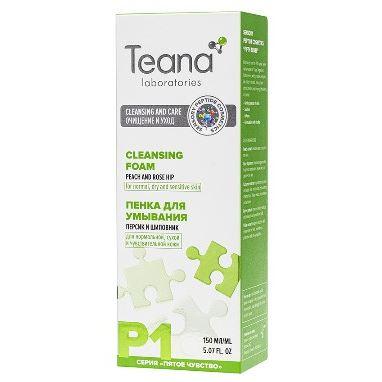 Пенка Teana P1 Пенка для умывания пенка для умывания гипоаллергенная lv