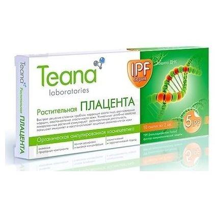 Ампулы Teana Растительная Плацента ампулы для лица сесдерма