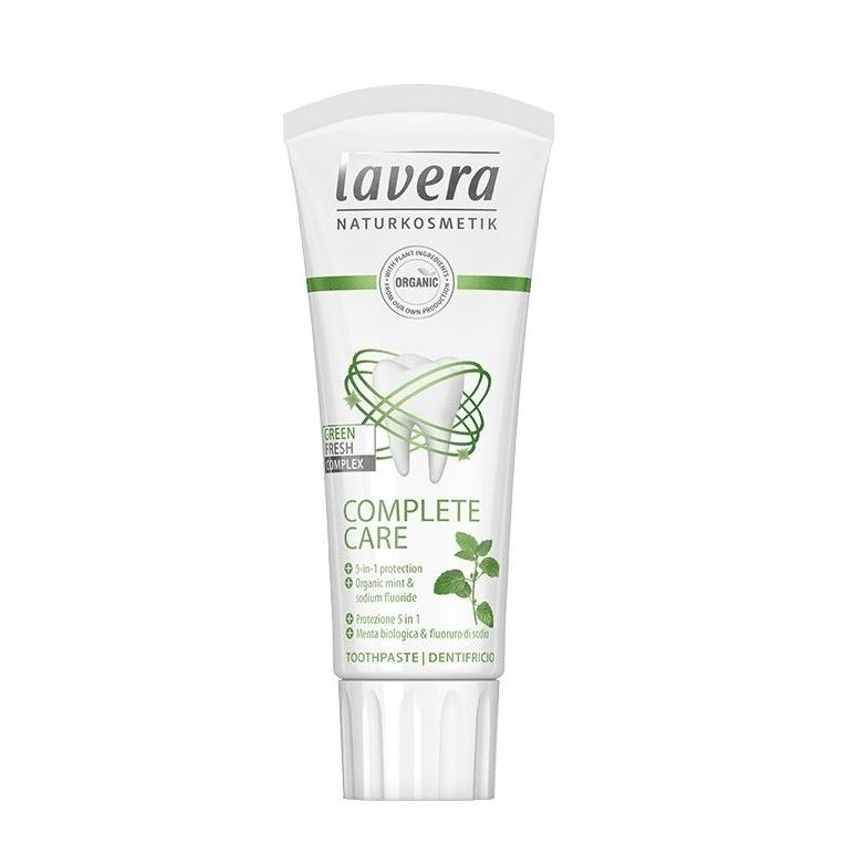 Зубная паста Lavera Toothpaste Mint 75 мл jason зубная паста клубника и банан jason cosmetics todder toothpaste strawberry and banana j01531 45 г