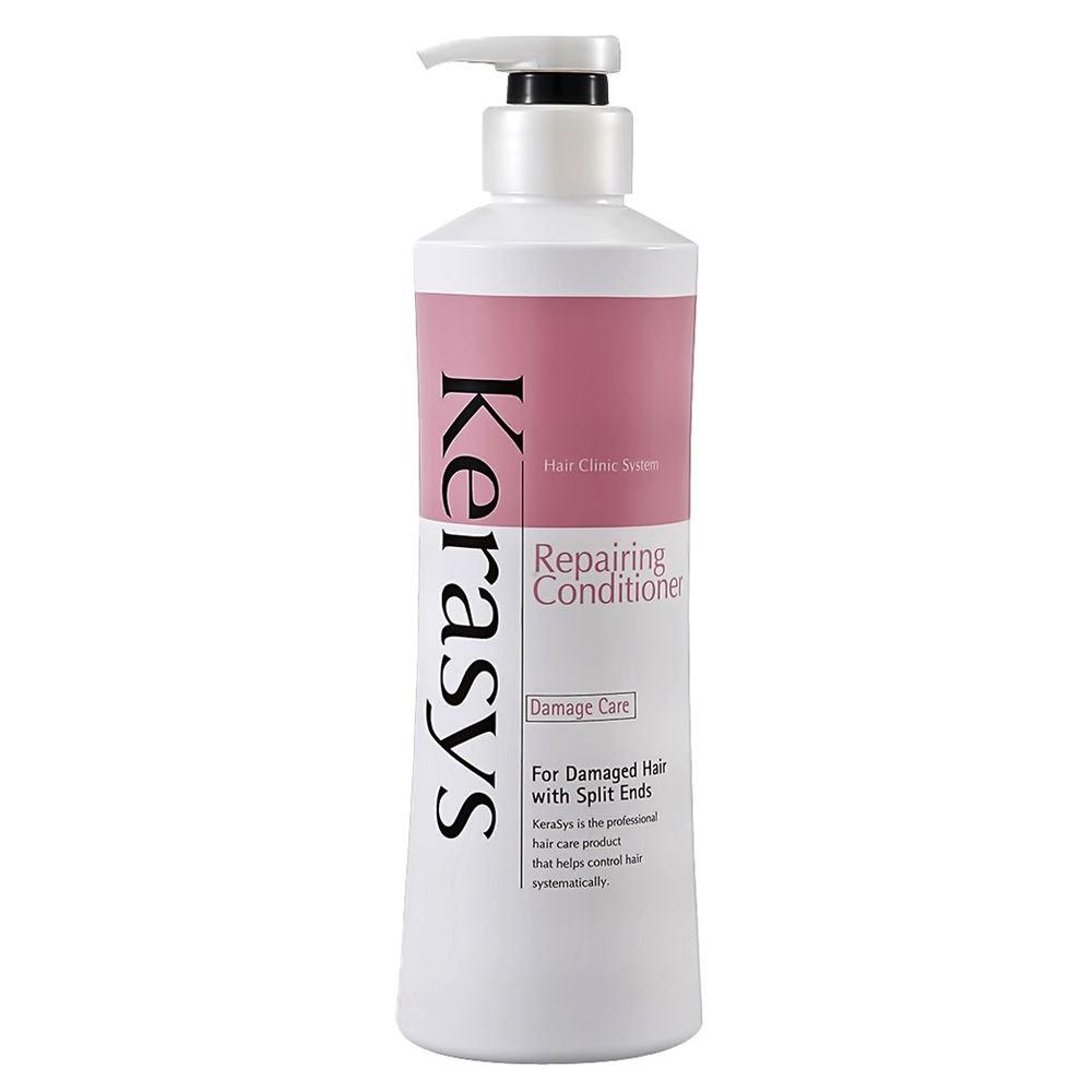 Кондиционер KeraSys Repairing Conditioner 600 мл шампунь kerasys для волос восстанавливающий 400 мл