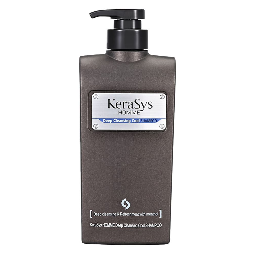 Шампунь KeraSys Homme Shampoo Deep Cleansing Cool 550 мл