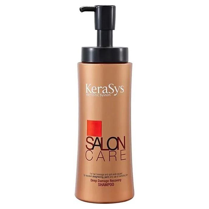 Шампунь KeraSys Deep Damage Recovery Shampoo 600 мл шампунь kerasys для волос восстанавливающий 400 мл
