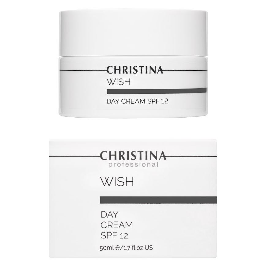 Дневной уход Christina Day Cream SPF 12 50 мл крем christina muse shielding day cream spf 30 объем 150 мл