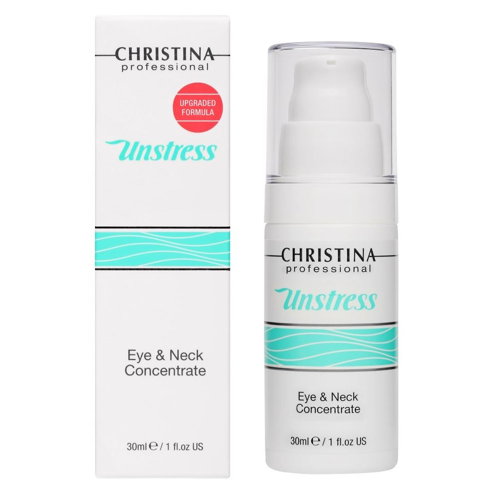 Концентрат Christina Eye & Neck Concentrate крем для глаз christina unstress harmonizing eye