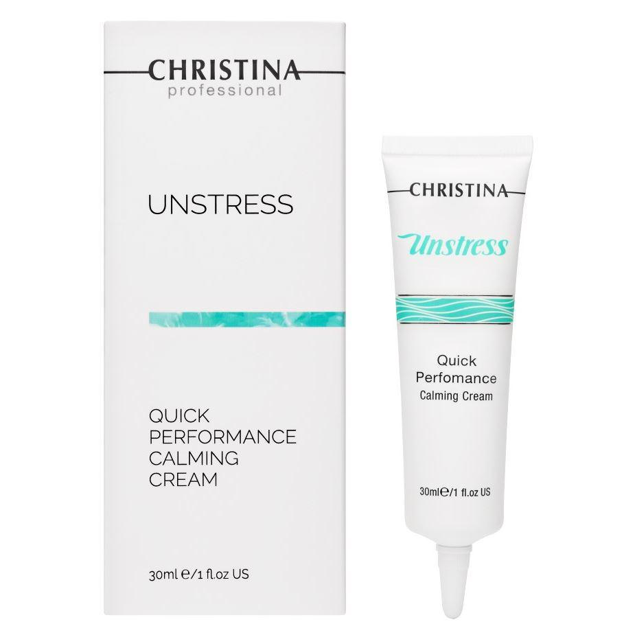 Крем Christina Quick Performance Calming Cream расслабляющий массажный крем unstress relaxing massage cream 500 мл christina