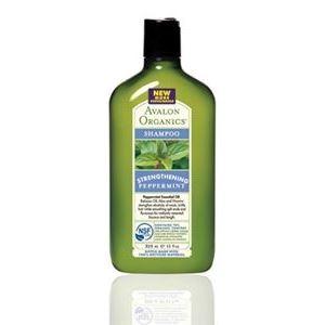 Шампунь Avalon Organics Peppermint Strengthening Shampoo  325 мл шампунь avalon organics tea tree scalp treatment shampoo 325 мл