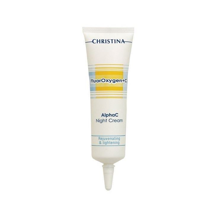 Крем Christina AlphaC Night Cream 30 мл christina bio phyto normalizing night cream крем ночной нормализующий 75 мл
