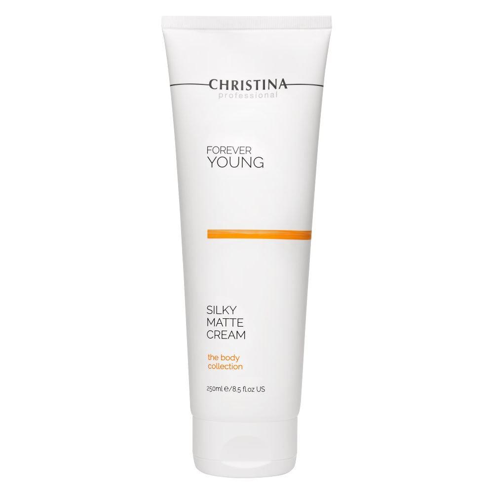Крем Christina Body Collection Silky Matte Cream 250 мл кремы mastic spa крем для тела уменьшающий растяжки my body oasis