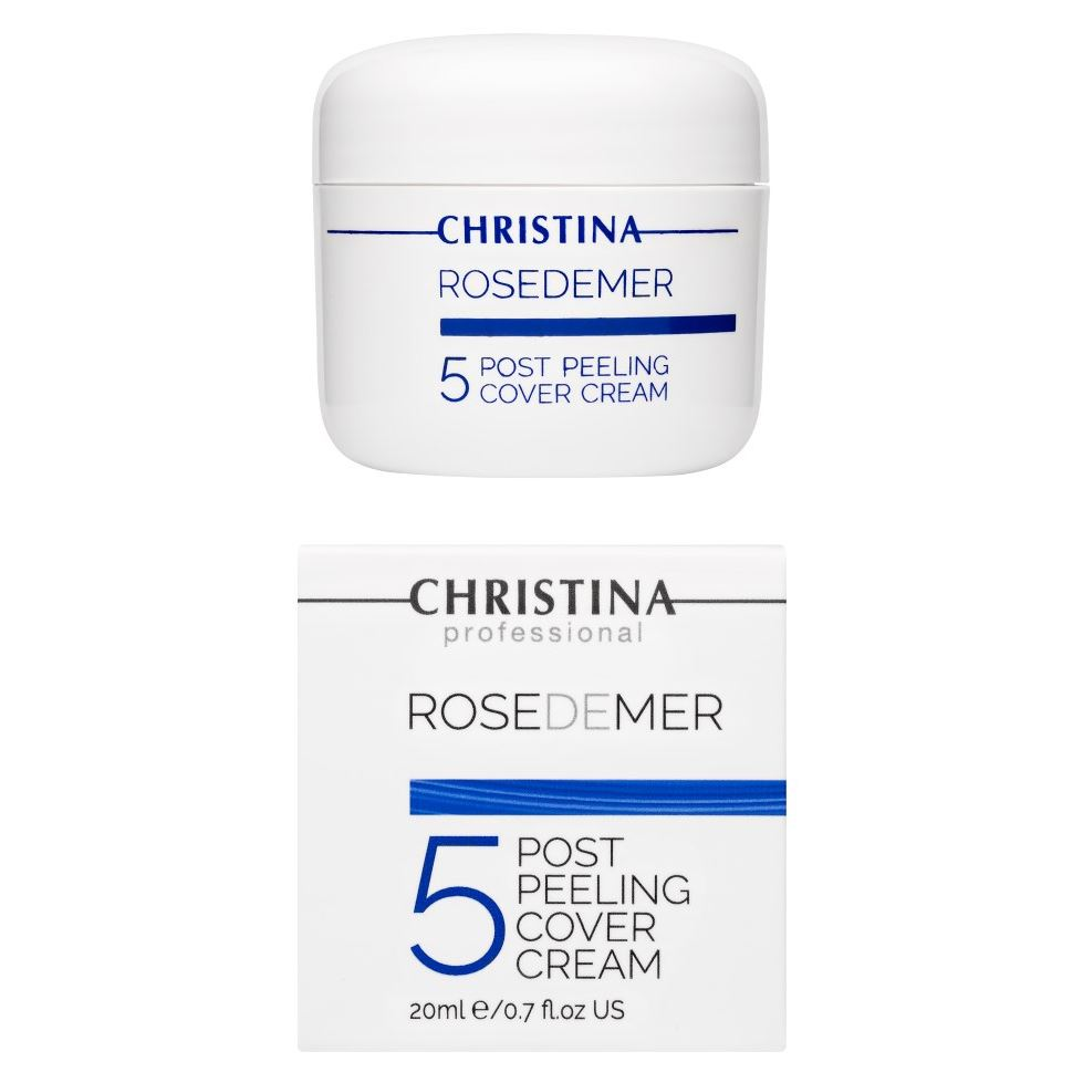 Крем Christina Step 5 Post Peeling Cover Cream 20 мл крем depilica professional foot cream step 5 200 мл
