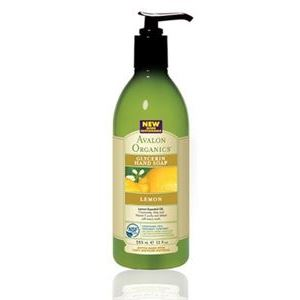 Мыло жидкое Avalon Organics Lemon Glycerin Hand Soap недорого