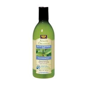 Гель для душа Avalon Organics Peppermint Bath & Shower Gel гель для ванны и душа avalon organics гель для ванны и душа