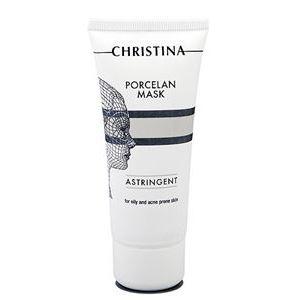 Маска Christina Porcelan Mask Astringent маска черная из никеля с имитацией кристаллов entice mystique mask black