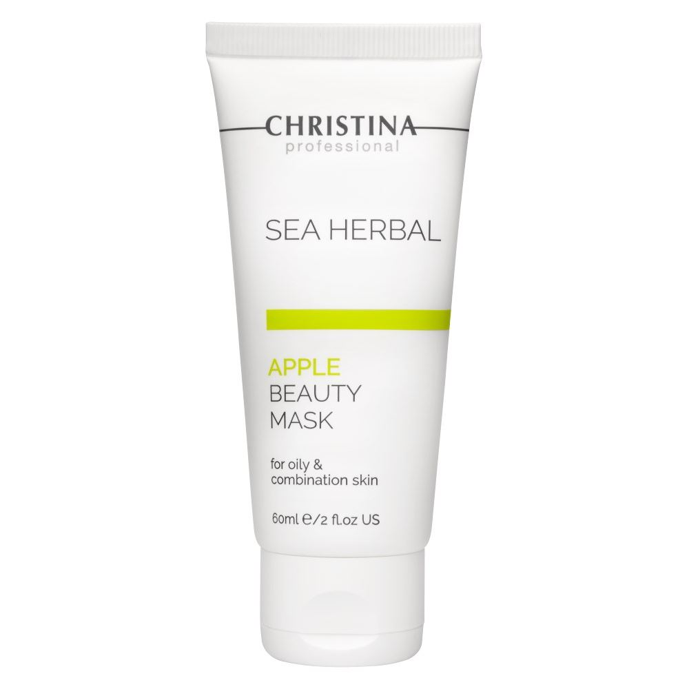Маска Christina Sea Herbal Beauty Mask Green Apple 60 мл недорого