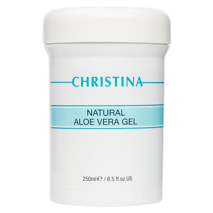 Гель Christina Natural Aloe Vera Gel 250 мл white cospharm white organia good natural aloe vera hair conditioner кондиционер для волос с алоэ вера 500 гр