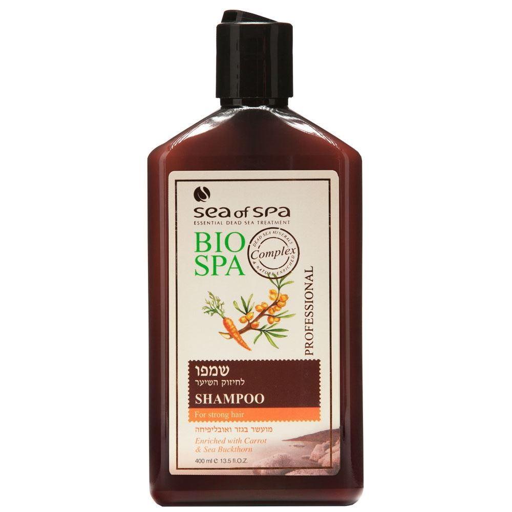 Шампунь Sea of SPA Shampoo for Strong Hair набор крем sea of spa bio marine dead sea minerals 4 in 1 skin care kit