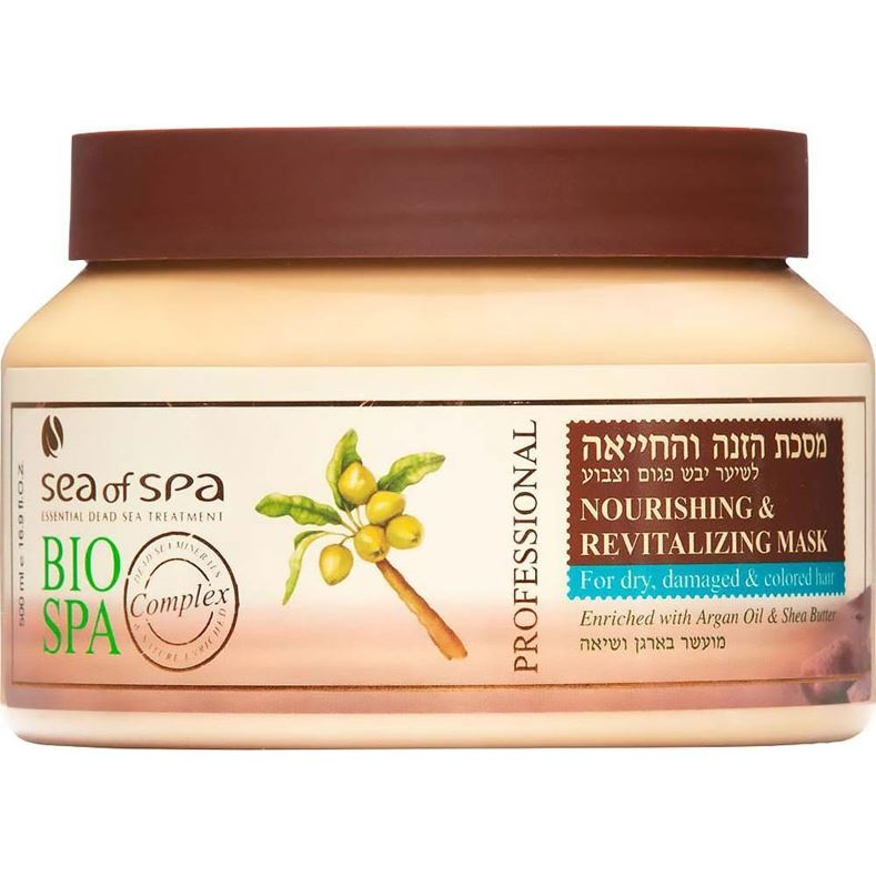 Маска Sea of SPA Nourishing & Revitalizing Mask for Dry, Damaged & Colored Hair 500 мл кремы sea of spa восстанавливающий ночной крем для лица