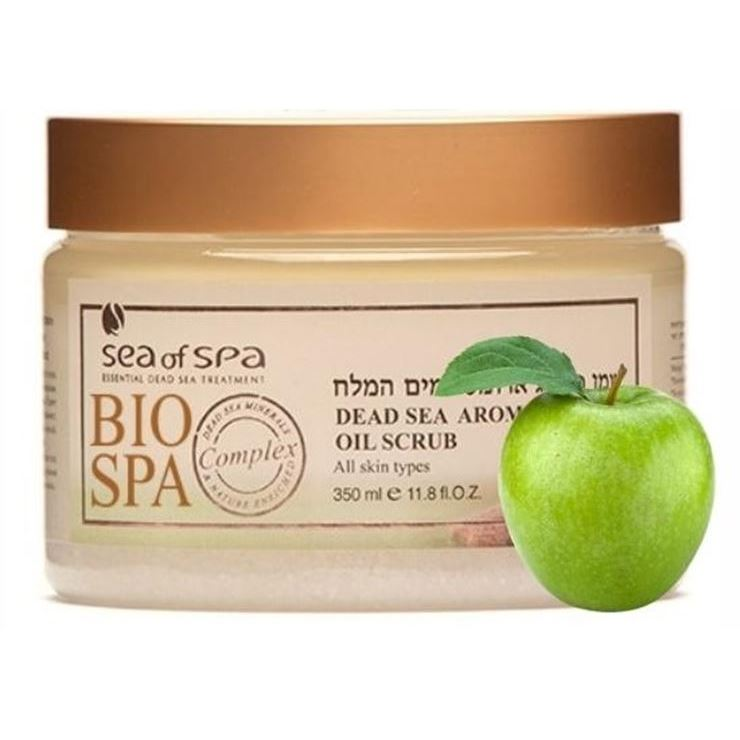 Скраб Sea of SPA Oil Scrub Green Apple 350 мл кремы sea of spa восстанавливающий ночной крем для лица