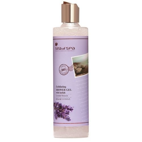 Гель для душа Sea of SPA Exfoliating Shower Gel Lavander 400 мл кремы sea of spa восстанавливающий ночной крем для лица