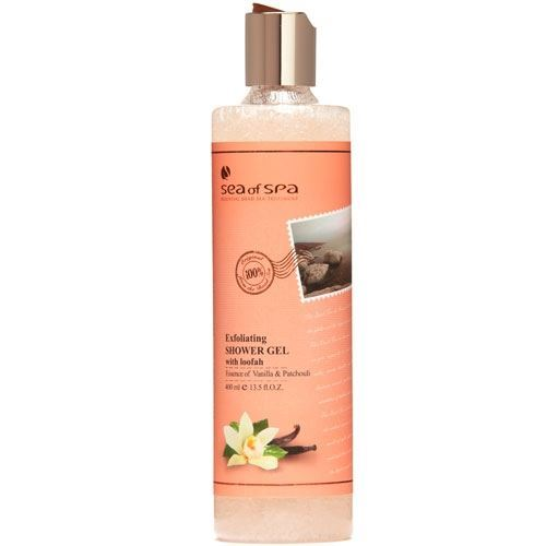 Гель для душа Sea of SPA Exfoliating Shower Gel Vanilla & Patchouli 400 мл sea of spa exfoliating shower gel red grapefruit