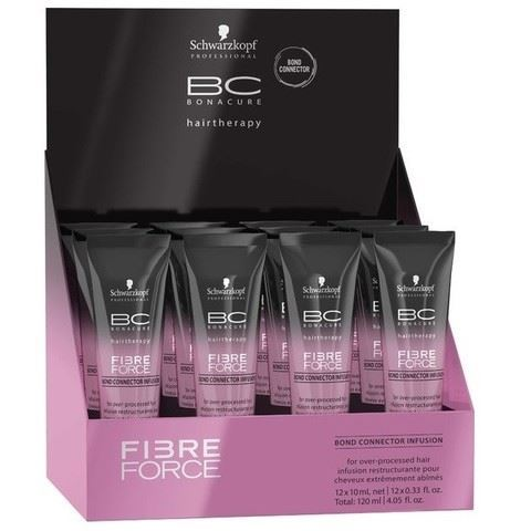Сыворотка Schwarzkopf Professional Fibre Force. Infusion 10 мл гель schwarzkopf professional 3 strong control g force texture 150 мл