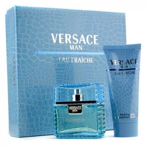 Набор Versace Versace Man Eau Fraiche Gift Set 1 (Набор: т/в 30 мл + гель д/душа 50 мл) cacharel туалетная вода женская amor amor l eau 50 мл os