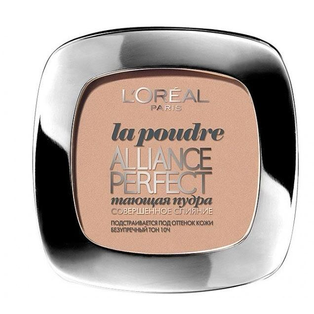 Пудра L'Oreal Alliance Perfect Compact Powder (R2/C3) mac splash and last pro longwear powder устойчивая компактная пудра dark tan