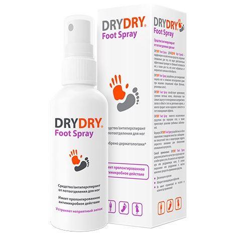 Спрей Dry Dry Dry Dry Foot Spray 100 мл средство eskaro biotol spray против плесени 0 5 л