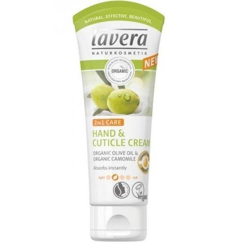 Крем Lavera 2 In 1 Care Hand & Cuticle Cream 75 мл the yeon canola honey silky hand cream крем для рук с экстрактом меда канола 50 мл