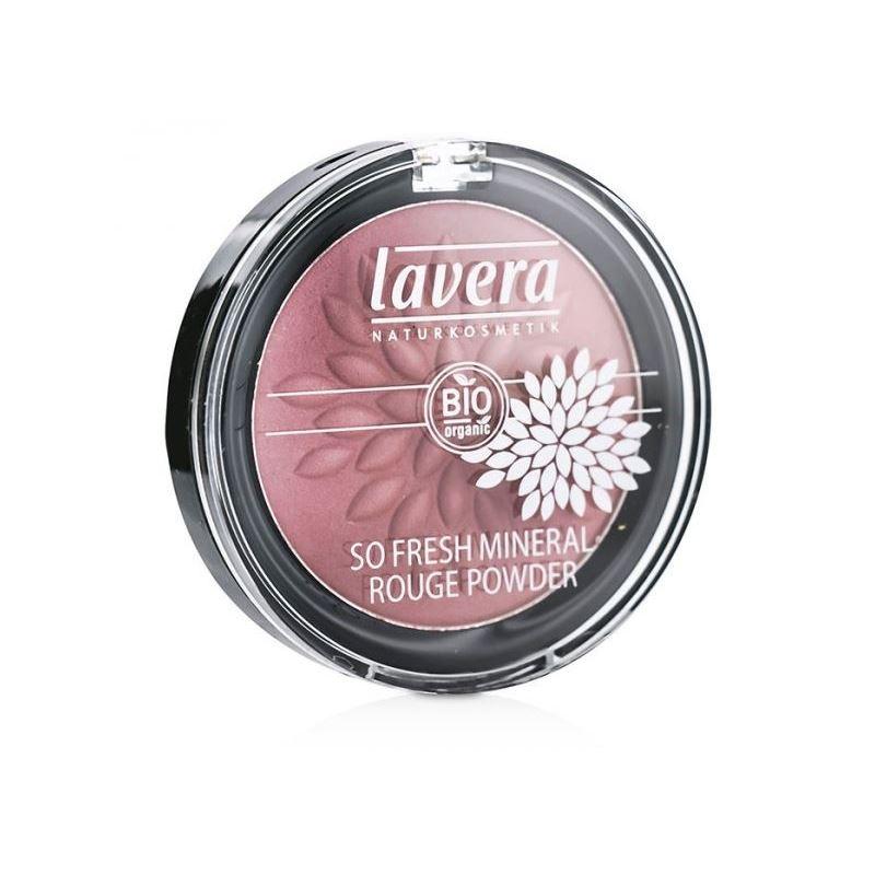 Румяна Lavera So Fresh Mineral Rouge Powder  (03) fresh minerals румяна пудра с минералами touh mineral blush powder 7 5гр
