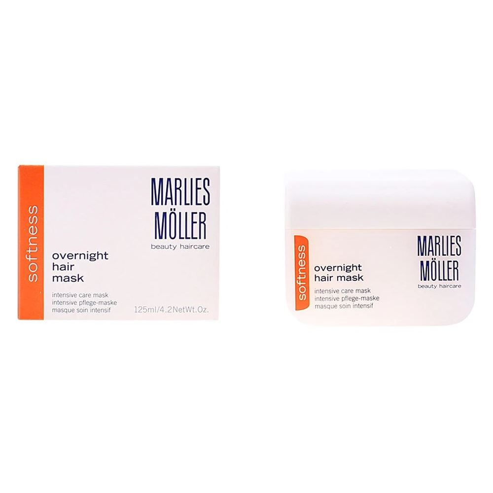 Маска Marlies Moller Softness. Overnight Care Intense Hair Mask la roche posay hydraphase intense маска 50 мл