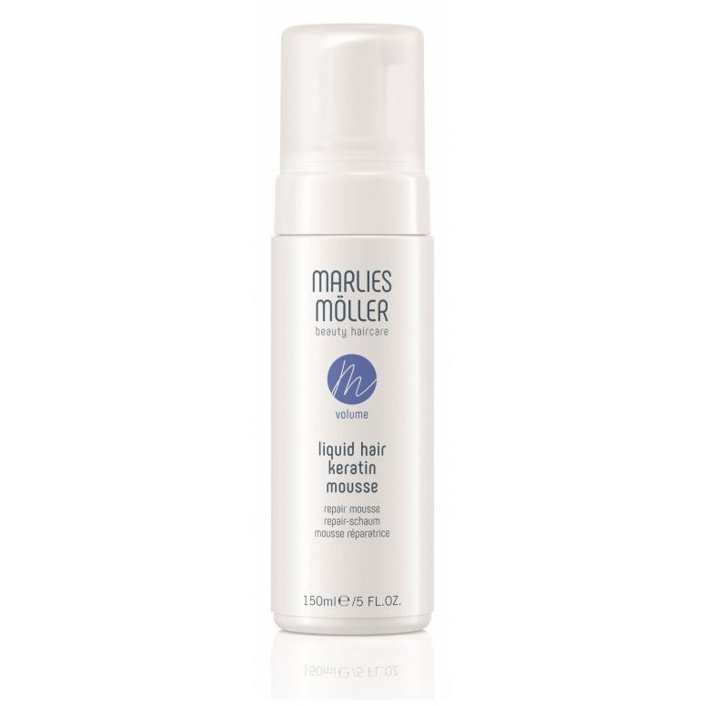 Мусс Marlies Moller Volume. Liquid Hair Repair Mousse 150 мл marlies moller luxury golden caviar сухой спрей для придания объема luxury golden caviar сухой спрей для придания объема