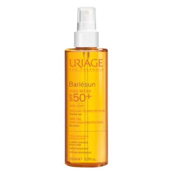 Масло Uriage Bariesun Dry Oil SPF 50+ 200 мл спрей uriage bariesun refreshing mist after sun 150 мл