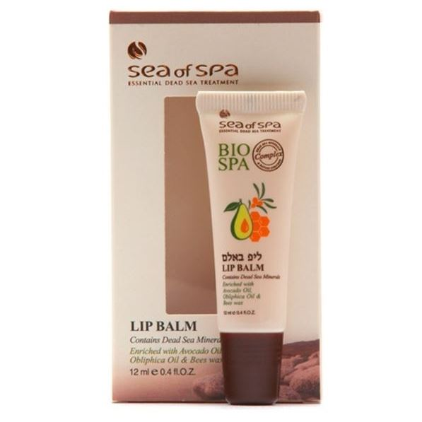 Бальзам Sea of SPA Lip Balm sea of spa крем для ног против трещин с маслом авокадо и алое вера 100 мл