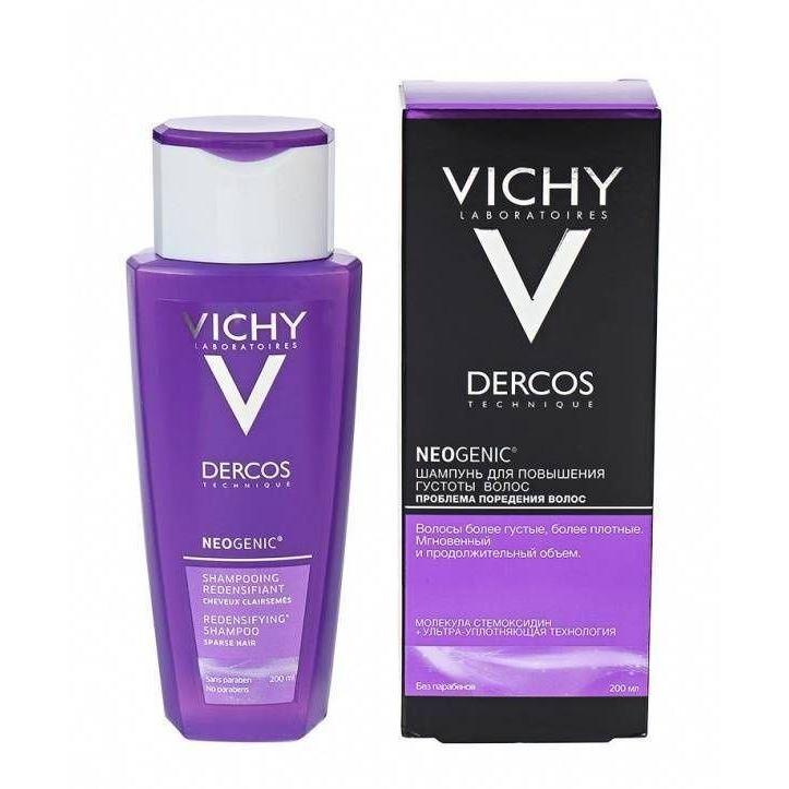 Набор VICHY NEOGENIC Шампунь (Набор: шампунь, 200 мл + тонизирующий бальзам, 150 мл) vichy питательный бальзам для восстановления сухих волос 150 мл
