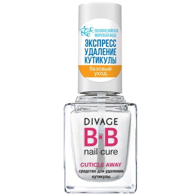 Гель Divage BB Nail Cure Cuticle Away  (Cuticle Away ) лак divage bb nail cure nail hardener
