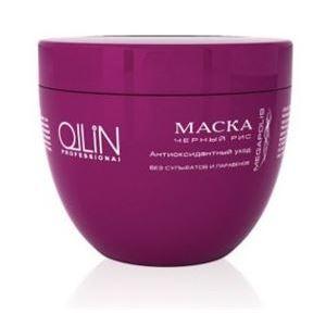 Маска Ollin Professional Mask Black Rice маска черная из никеля с имитацией кристаллов entice mystique mask black