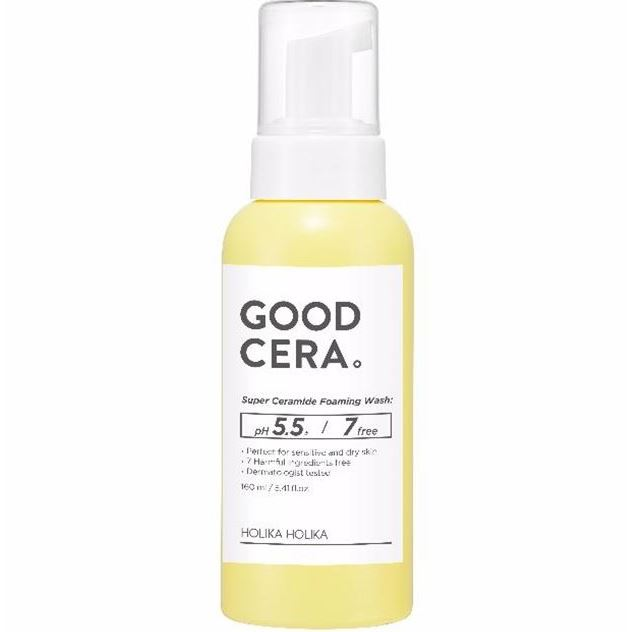 Пенка Holika Holika Good Cera Super Ceramide Foaming Wash 160 мл holika holika one solution super energy ampoule moisturizing объем 30 мл