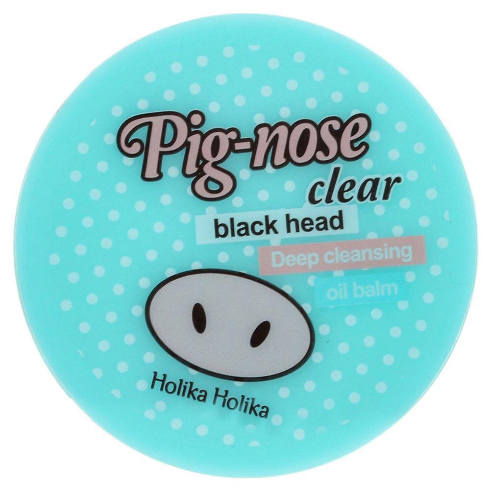 Бальзам Holika Holika Pig-Nose Clear Black Head Oil Balm 30 мл бальзам для очистки пор pignose clear black head deep cleansing oil balm 30 мл