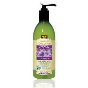Мыло жидкое Avalon Organics Lavender Glycerin Hand Soap avalon organics мини гель для ванны и душа с маслом лаванды avalon organics lavender gel travel size av35474 1 шт