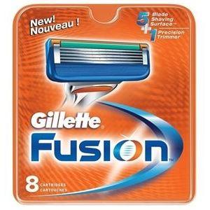 Кассеты Gillette Fusion - 8 Сменных Кассет (8 шт)