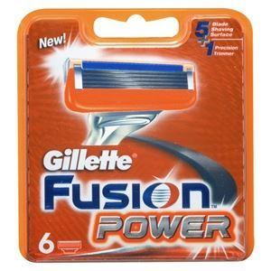 Кассеты Gillette Fusion Power - 6 Сменных Кассет (6 шт. (eng))
