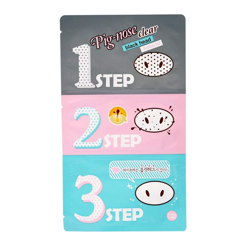 Маска Holika Holika Pig-Nose Clear Black Head 3-step (1 комплект) гель cosrx one step pimple clear kit 1 шт