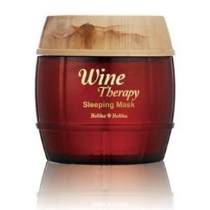 Маска Holika Holika Wine Therapy Red Wine Sleeping Mask 120 мл ночная маска holika holika superfood capsule pack pore объем 10 мл