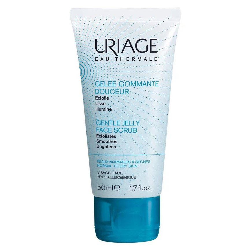 Скраб Uriage Gentle Jelly Face Scrub 50 мл пилинг uriage exfolianting scrub