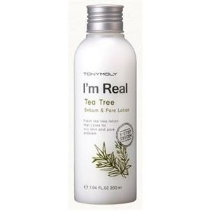 Лосьон Tony Moly I'm Real Tea Tree Sebum & Pore Lotion 200 мл маска tony moly тканевые маски pureness 100 mask sheet tony moly