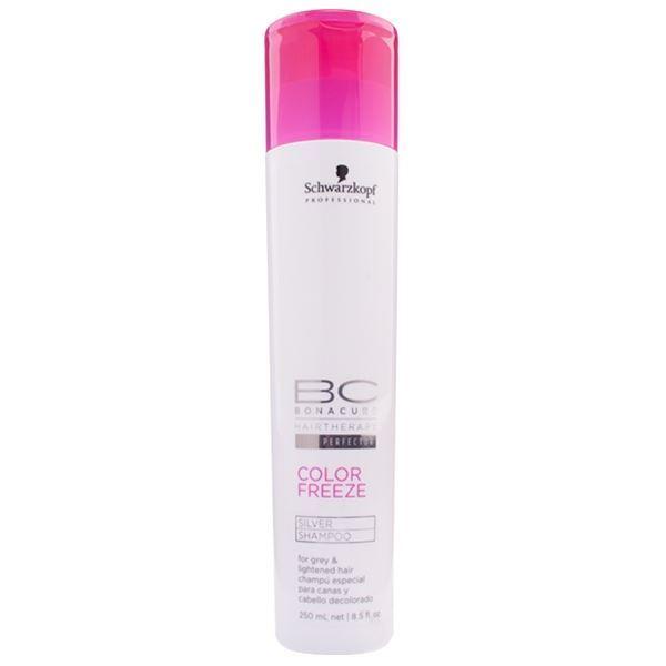 Шампунь Schwarzkopf Professional Color Freeze. Silver Shampoo  1000 мл лак schwarzkopf professional 2 medium control freeze fix 500 мл